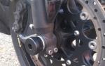 Protections de fourche moto