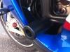BMW S1000r - Roulettes de protection